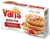 Van's Foods branded Gluten Free Waffle Recall [US]