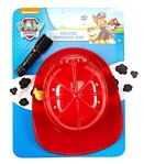 "The Paw Patrol Marshall hats are red with a yellow ribbon, black and white spotted dog ears and a black flash light attached to the side of the hat. The Flashlight accessory is included with the hat and they share the SKU number. Only Flashlights with a SKU of 01292093 and date codes 1703RY01, 1603RY01 or 1503RY01 are involved in this recall.The SKU number and date codes are on the sewn in label under the ear on the hat.  Please consult the photograph above for details of the product's packaging, design and retail presentation. Additional images of the recalled Paw Patrol Marshall Hats are pictured on the Web site above.  ==> No barcodes, UPCs, item numbers or other identification numbers were listed with this recall notification.  According to the CPSC, the batteries in the Flashlight accessory can overheat, causing the Flashlight to become hot, posing burn and fire hazards to the child or others who handle the device.  If you have any questions about this recall notification, please contact Spirit Halloween toll-free at 1-866-586-0155 from 9:00 AM to 5:30 PM, Eastern Standard Time, Monday to Friday. Alternatively, you can e-mail the company at GuestServices@spirithalloween.com or visit the company's Web site at http://www.spirithalloween.com and click on the Product Recall link at the bottom of home page or directly at http://www.spirithalloween.com/content.jsp?pageName=ProductRecall for more information.  ==> To see other recalls and notifications caused by suspected faulty and/or dangerous children's Toys, please search for ""toy"" using the Search Box at the top of this page.  ==> To see other recalls and notifications relating to Burn or Scald hazards, please search for ""burn"" using the Search Box at the top of this page.  ==> To see other recalls and notifications relating to Children, Infants or Babies, please search for ""child"" using the Search Box at the top of this page.  ==> To see other recalls and notifications relating to products made, marketed and/or sold by Spirit Halloween, please search for ""Spirit Halloween"" using the Search Box at the top of this page.  ==> To see other recalls and notifications relating to products made, marketed and/or sold by Paw Patrol, please search for ""Paw Patrol"" using the Search Box at the top of this page."