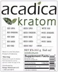 Acadica branded Suma & Hulu Kratom Recall [US]