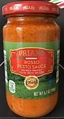 ALDI Priano Rosso Pesto Sauce Recall [US]