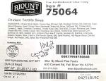 Blount Fine Foods Chicken Tortilla Soup Recall [US]