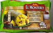 El Monterey Signature Burrito Recall [US]