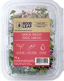 Goodleaf branded Daikon Radish Recall [Canada]