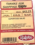 Fry's, King Soopers, Ralphs & Smith's Salad Recall [US]