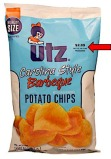 Utz Carolina Style Barbeque Potato Chip Recall [US]