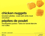 Loblaw No Name brand Chicken Nugget Recall [Canada]