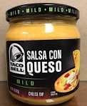 Taco Bell Salsa Con Queso Mild Cheese Dip Recall [US]