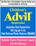 Pfizer Children's Advil Suspension Recall [US]