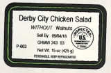 Caito Foods Derby City Chicken Salad Recall [US]