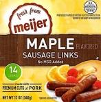 Bob Evans, Meijer & Giant Eagle Pork Sausage Recall [US]