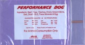 Performance branded Dog Raw Pet Food Recall [US]