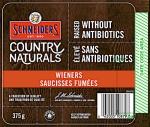 Schneiders branded Chicken Wiener Recall [Canada]