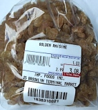 Fruits Du Sud Golden Seedless Raisins Recall [US]