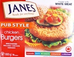 Janes branded Pub Style Chicken Burger Recall [Canada]