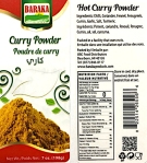 Baraka branded Curry Powder Recall [US]