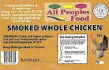 All Peoples Food branded Smoked Chicken Recall [US]