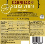 Harris Teeter & Trader Joe's Burritos & Pizza Recall [US]