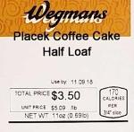 Wegmans branded Baked Goods Recall [US]