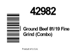 Swift and Blue Ribbon branded Ground Beef Recall [US]