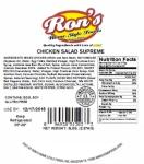 10873 - USDA - Ron's Home Style & Texas Kitchen Chicken Salad Recall [US]