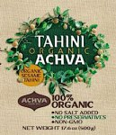 Achdut, Achva, Baron's, Pepperwood, S&F and Soom branded Tahini Recall [US]