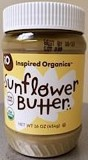 Inspired Organics Sunflower Butter Recall [US]