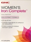 GNC Women's Iron Dietary Supplement Recall [US]