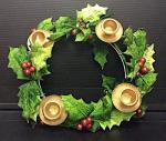 Holly & Berry Wreath Candle Holder Recall [Australia]