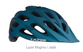 Lazer branded Blade, Elle, Jade and Magma Bicycle Helmets