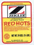 Zeigler Poultry and Meat Sausage Recall [US]