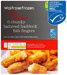 Waitrose Battered Haddock Fish Finger Recall [UK]