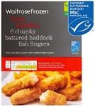 Waitrose Battered Haddock Fish Finger Recall [UK]