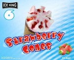 Belfield Ice King Strawberry Ice Cream Cone Recall [UK]