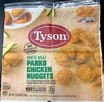 Tyson branded Chicken Panko Nuggets Recall [US]