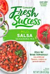 Concord Fresh Success Salsa Seasoning Recall [US]