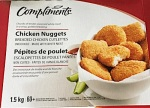 Compliments branded Chicken Nugget Recall [Canada]