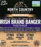 North Country Smokehouse Banger Sausage Recall [US]