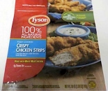 Tyson Frozen Chicken Strip Recall [US]