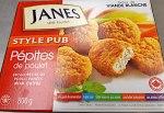 Janes Pub Style Chicken Nugget Recall [Canada]