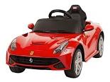 Rastar B/O 6V Ferrari F12 Berlinetta Ride On Model Car Recall [EU]