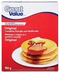 Walmart Great Value brand Pancake and Waffle Mixes Recall [Canada]