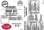Fresh From Meijer Ground Beef Recall [US]