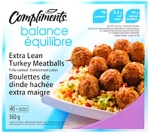 Compliments Balance Lean Turkey Meatball Recall [Canada]