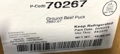 K2D Foods Raw Ground Beef Recall [US]