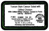 Kroger Salad with Chicken Recall [US]