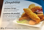 Compliments branded Chicken Strip Recall [Canada]