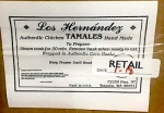 Los Hernandez Chicken and Pork Tamale Recall [US]