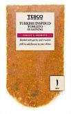 Tesco Turkish Inspired Tomato Seasoning Recall [UK]
