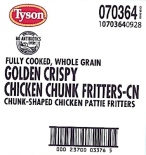 Tyson Foods Chicken Fritter Recall [US]