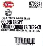 Tyson Foods Chicken Fritter Recall [US]
